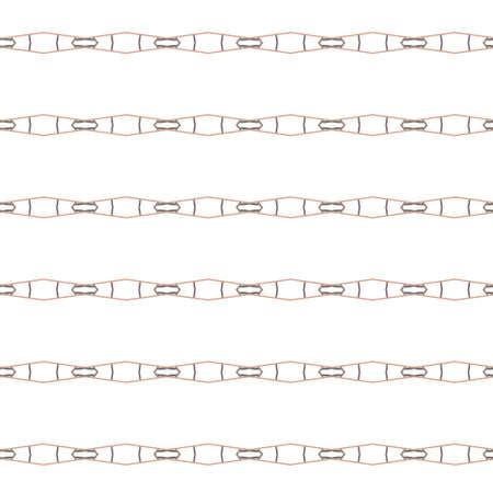 Patrón de vector transparente en estilo ornamental geométrico Ilustración de vector