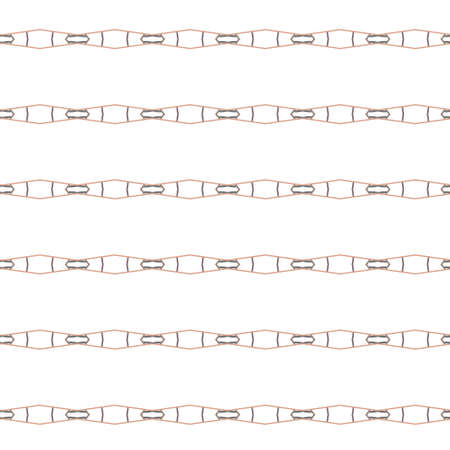 Seamless vector pattern in geometric ornamental style Vetores