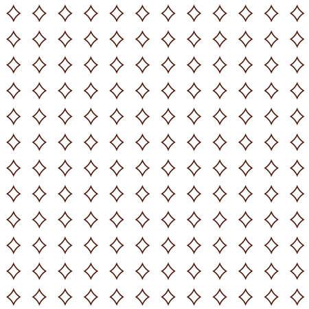 Geometric ornamental vector pattern. Seamless design texture. Ilustração Vetorial