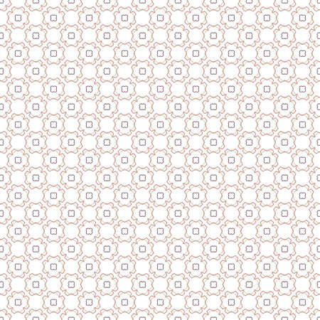 Seamless geometric ornamental vector pattern. Abstract background Çizim