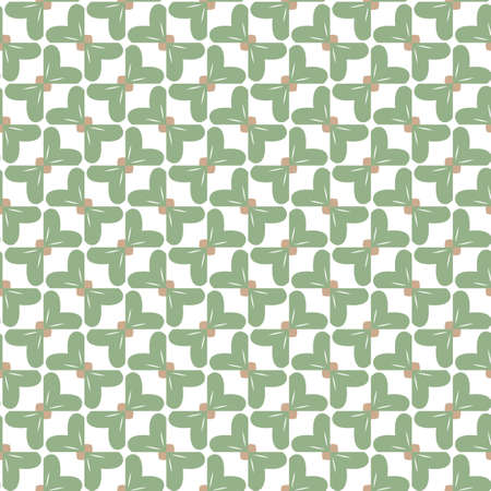 Seamless geometric ornamental vector pattern. Abstract background Banque d'images - 129854936