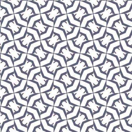 Geometric ornamental vector pattern. Seamless design texture. Banque d'images - 129854959