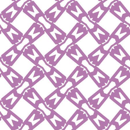 Geometric ornamental vector pattern. Seamless design texture. Banque d'images - 129854961