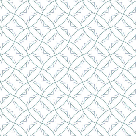 Seamless vector pattern in geometric ornamental style Banque d'images - 129854966