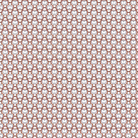 Seamless vector pattern. Background texture in geometric ornamental style. Banque d'images - 129854979