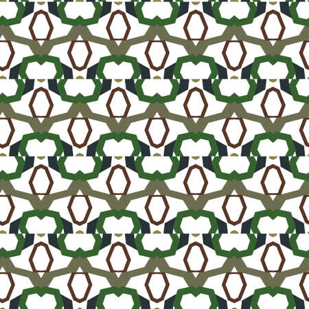 Geometric ornamental vector pattern. Seamless design texture. Banque d'images - 129855002