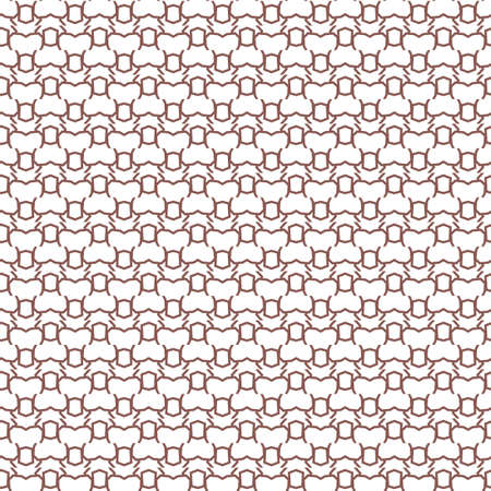 Seamless vector pattern in geometric ornamental style Banque d'images - 129855028