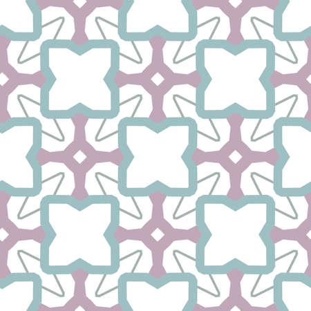Geometric ornamental vector pattern. Seamless design texture.