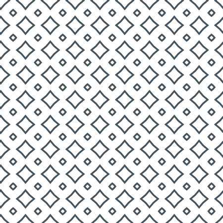 Abstract background texture in geometric ornamental style. Seamless design. Vetores