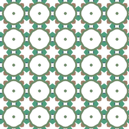 Seamless geometric ornamental vector pattern. Abstract background 向量圖像