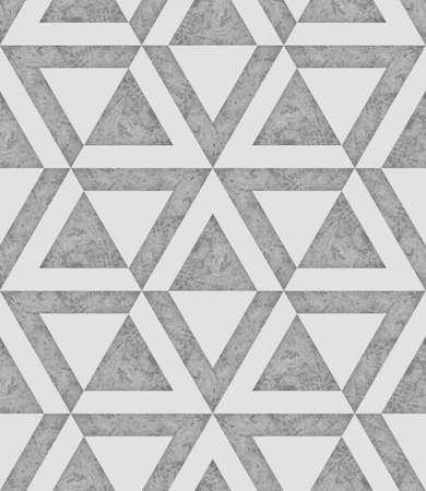 콘크리트, 각도 그래픽, 3d 일러스트 레이 션의 질감과 함께 흰색과 회색 원활한 패턴 배경 이미지