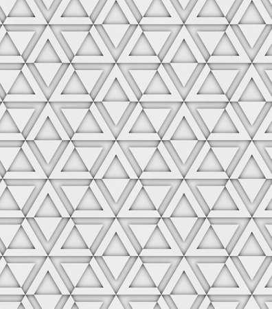 3d 형상 장식 원활한 패턴, 삼각형 및 육각형, 디자인 배경