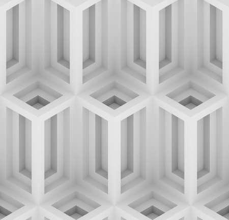 단색 기하학 3D 인쇄, 장식용 벽지 원활한