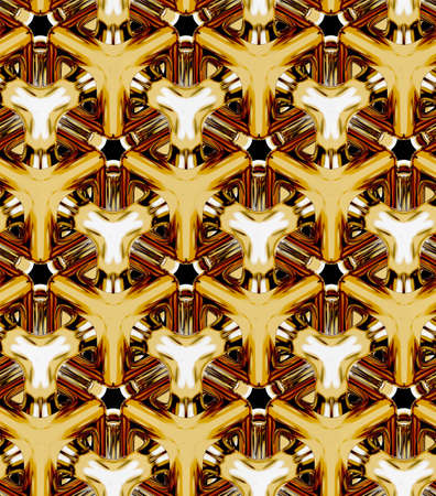 3d realistic textures, gold volume cubes ,3D geometric wallpaper
