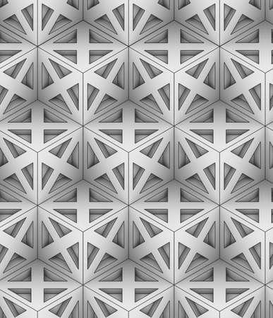 단색 기하학적 3D 그래픽, 원활한 장식 벽지, 검은 색 직선 기둥