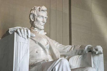 아메리: 링컨 기념관 스톡 사진