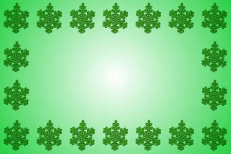 A snowflake frame or border that can be used as an invitation or greeting card for the Christmas or Holiday Season.