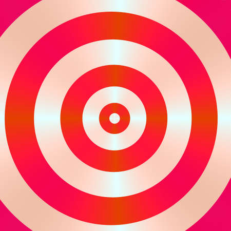 A high resolution fractal simulating a bullseye, which can be used for business concepts such as hitting the mark, and winning strategies. Stock Photo