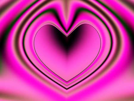 eventos especiales: Una alta resoluci�n, generados por computadora, dise�o fractal que simula un coraz�n que puede ser utilizado para fiestas y eventos especiales (como el D�a de San Valent�n, D�a de la Madre, aniversarios y bodas). Copyspace en el interior del coraz�n se ha incluido.  Foto de archivo