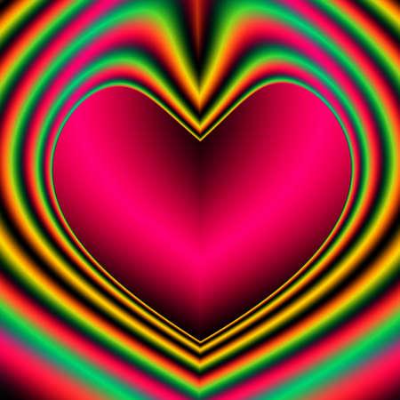 eventos especiales: Una alta resoluci�n, generadas por computadora, dise�o fractal que simula un coraz�n que puede ser utilizado para festividades y acontecimientos especiales (como el D�a de San Valent�n, D�a de la Madre, aniversarios y bodas). Copyspace en el interior del coraz�n se ha incluido.