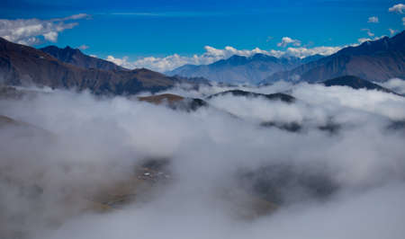 Tusheti covered by Clouds background.