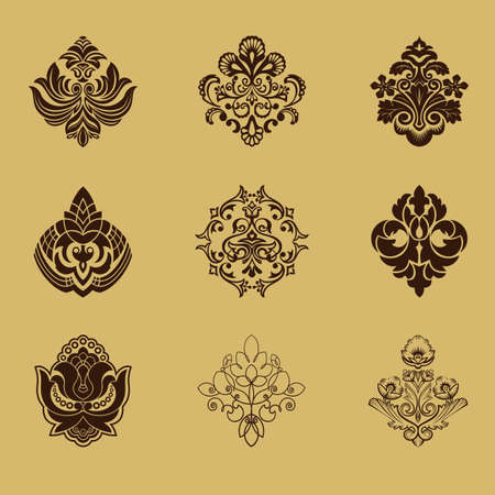 Different style design elements Vector