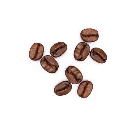 Roasted coffee beans Banco de Imagens - 156854354
