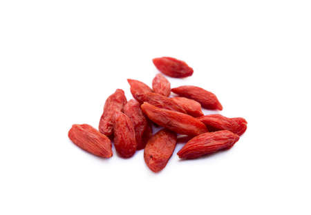 Goji berry isolated on white background Banco de Imagens - 157552728