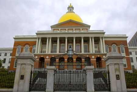 Ayuntamiento de la hist�rica ciudad de Salem, Massachusetts - la capital de la brujer�a de los EE.UU. Foto de archivo - 1208066