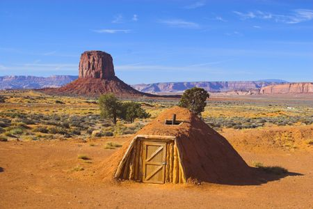 indian artifacts: Ancient ruins of pre-historic Indian cultures of American southwest and surroundings, Monument Valley