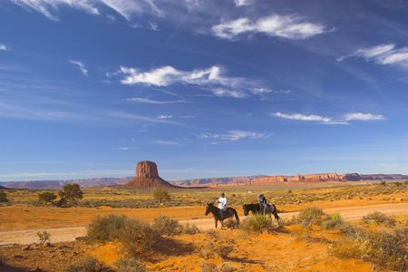 Ancient ruins of pre-historic Indian cultures of American southwest and surroundings, Monument Valley