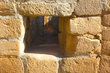 Ancient ruins of pre-historic Indian cultures of American southwest and surroundings, Mesa Verde National Park 版權商用圖片
