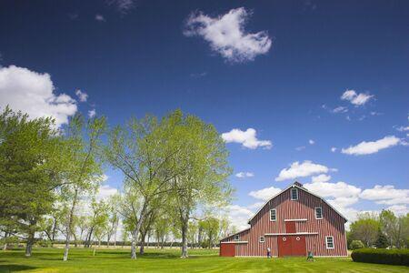 wildwest: Azienda agricola e la casa del famoso Buffalo Bill vicino North Platte nel Nebraska