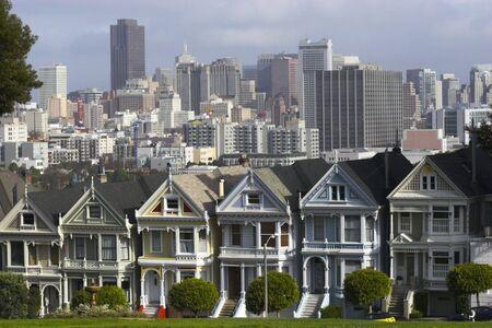 Seven Sisters in San Francisco, California