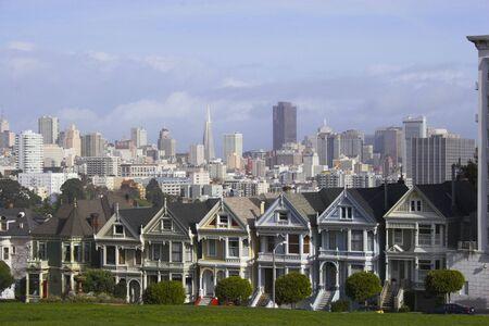Seven Sisters in San Francisco, California photo