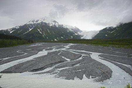 Landscape of Kenai Fjords National Park
