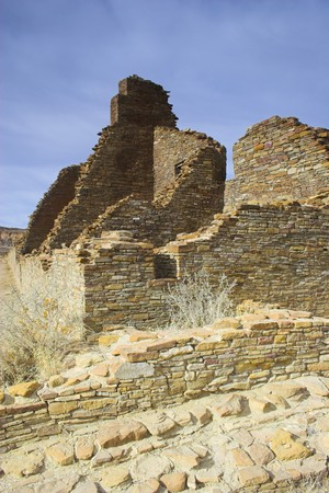 chaco: Ancient ruins of pre-historic Indian cultures of American southwest and surroundings, Chaco Culture National park