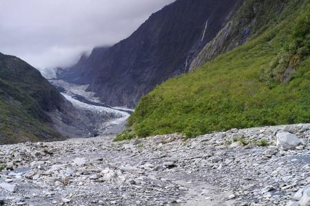 franz josef: El Franz Josef es un glaciar situado en Westland Tai Poutini Parque Nacional en la costa oeste de Nueva Zelanda