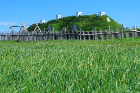 aux: Ancient homes of Viking settlers in L