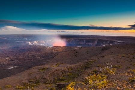 erupting: Volcano erupting on Big Island,  Hawaii