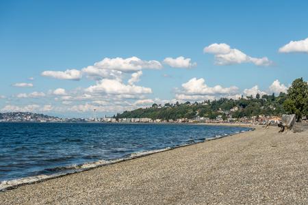 elliot: Alki Beach on a sunny June day.