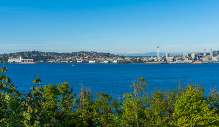 A view of Queen Anne Hill in , Washington.