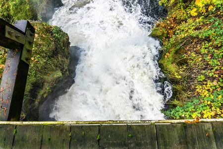 Lower Tumwater Falls whitewater.