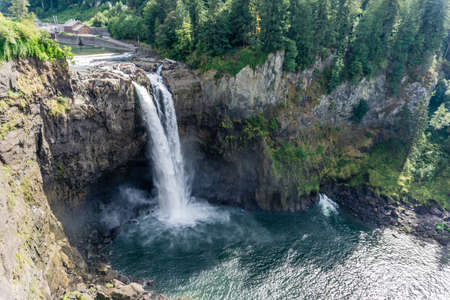 Glorious Snoqualmie Falls in Washington State.