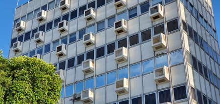 Modern building in Nicosia city center