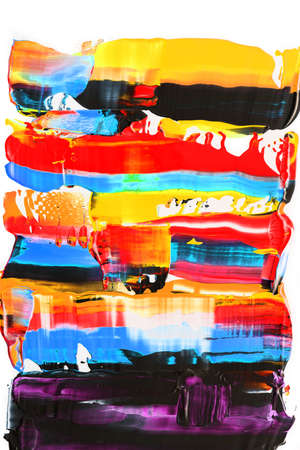 Abstract background. Oil acrylic paint. Thick brushstrokes. Colorful painting with copy space. Book cover poster.