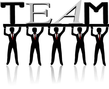 Team Stock Vector - 21032253
