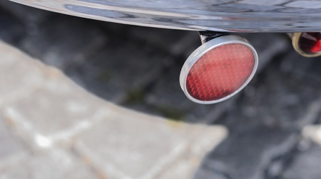 reflector: Bumper with clasical red reflector