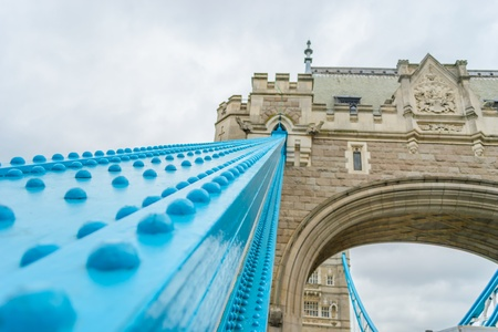 Shot at the day of London bridge in London, England