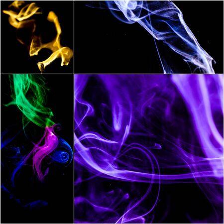 Smoke collage